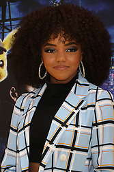 May 2, 2019 - New York City, New York, U.S. - Actor/singer REGAN ALIYAH from the group RYBE  attends the US premiere of Pokemon Detective Pikachu held at Military Island Times Square. (Credit Image: © Nancy Kaszerman/ZUMA Wire)
