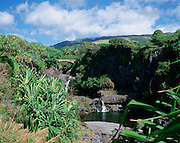 Seven Pools, Hana Coast, Maui, Hawaii, USA<br />