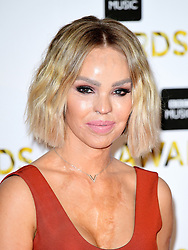 Katie Piper attending the BBC Music Awards at the Royal Victoria Dock, London. PRESS ASSOCIATION Photo. Picture date: Monday 12th December, 2016. See PA Story SHOWBIZ Music. Photo credit should read: Ian West/PA Wire