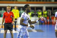 Theophile Causse  - 04.03.2015 - Nimes / Dunkerque - 17eme journee de Division 1<br />Photo : Andre Delon / Icon Sport