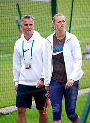 LONDON, ENGLAND - Friday, June 29, 2012: Petra Kvitova (CZE) during practice on day five of the Wimbledon Lawn Tennis Championships at the All England Lawn Tennis and Croquet Club. (Pic by David Rawcliffe/Propaganda)