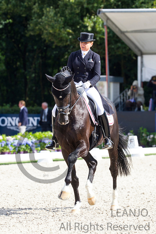 Dorothee Schneider - Sezuan<br /> Longines FEI/WBFSH World Breeding Dressage Championships for Young Horses 2016<br /> &copy; DigiShots
