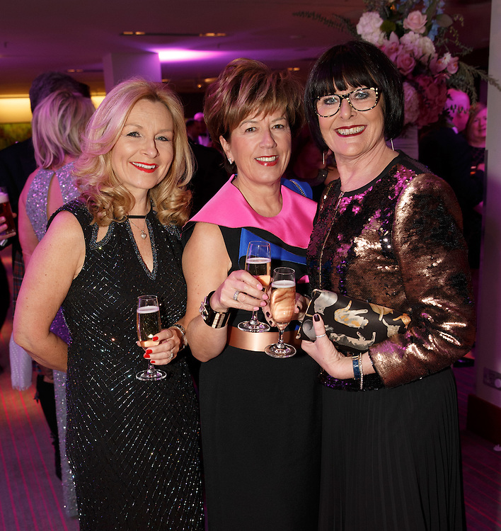 BNO Maggie's Spring Ball at Radisson Hotel Glasgow. L to R :  Sheila Kinnaird, Irene Berry and Moyra Cowley. Picture Robert Perry for The Herald and  Evening Times 23rd April 2016<br /> <br /> Must credit photo to Robert Perry<br /> <br /> FEE PAYABLE FOR REPRO USE<br /> FEE PAYABLE FOR ALL INTERNET USE<br /> www.robertperry.co.uk<br /> NB -This image is not to be distributed without the prior consent of the copyright holder.<br /> in using this image you agree to abide by terms and conditions as stated in this caption.<br /> All monies payable to Robert Perry<br /> <br /> (PLEASE DO NOT REMOVE THIS CAPTION)<br /> This image is intended for Editorial use (e.g. news). Any commercial or promotional use requires additional clearance. <br /> Copyright 2016 All rights protected.<br /> first use only<br /> contact details<br /> Robert Perry     <br /> 07702 631 477<br /> robertperryphotos@gmail.com<br />         <br /> Robert Perry reserves the right to pursue unauthorised use of this image . If you violate my intellectual property you may be liable for  damages, loss of income, and profits you derive from the use of this image.