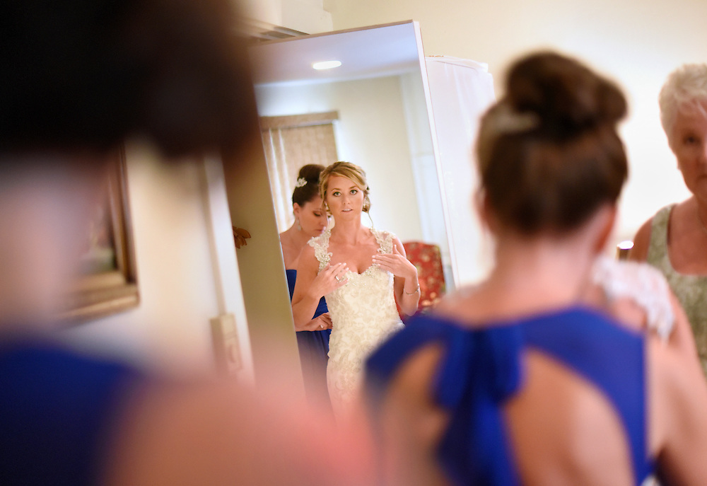 A wedding at the Stroudsmoor Country Inn in Stroudsburg, Pennsylvania.