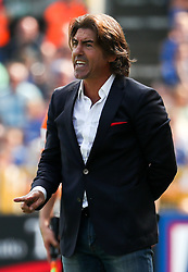 August 27, 2017 - Brugge, BELGIUM - Standard's head coach Ricardo Sa Pinto pictured during the Jupiler Pro League match between Club Brugge and Standard de Liege, in Brugge, Sunday 27 August 2017, on the fifth day of the Jupiler Pro League, the Belgian soccer championship season 2017-2018. BELGA PHOTO VIRGINIE LEFOUR (Credit Image: © Virginie Lefour/Belga via ZUMA Press)