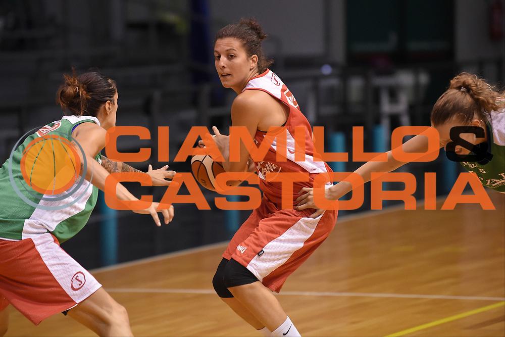 Valeria Battisodo<br /> Nazionale Italiana Femminile Senior - Allenamento<br /> FIP 2018<br /> Treviso, 13/08//2018<br /> Foto GiulioCiamillo / Ciamillo-Castoria