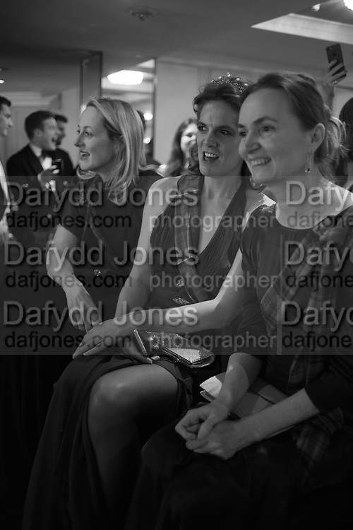 RITA KONIG; LAURA GODSALL, BENEDICT DRUMMOND, The Royal Caledonian Ball 2017, Grosvenor House, 29 April 2017
