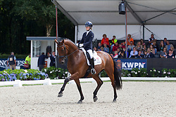 Fry Charlotte, GBR, Graaf Leatherdale T<br /> World Championship Young Dressage Horses <br /> Ermelo 2016<br /> © Hippo Foto - Leanjo De Koster<br /> 30/07/16