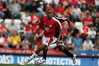 Photo: Rich Eaton.<br /> <br /> Bristol City v Swansea City. Coca Cola League 1. 07/04/2007. Kevin Betsy of Bristol attacks