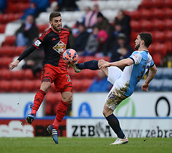 - Photo mandatory by-line: Richard Martin Roberts/JMP - Mobile: 07966 386802 - 24/01/2015 - SPORT - Football - Blackburn - Ewood Park - Blackburn Rovers v Swansea City - FA Cup Fourth Round