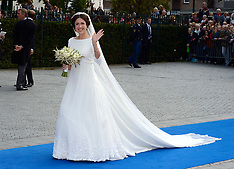 OCT 05 2013 Wedding Of Prince Jaime de Bourbon Parme & Viktoria Cservenyak