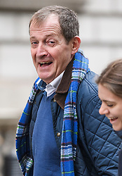 © Licensed to London News Pictures. 05/11/2019. London, UK. People's Vote campaigner ALASTAIR CAMPBELL is seen in Westminster. A general election has been called on December 12th in an attempt to get a Brexit agreement through parliament. Photo credit: Ben Cawthra/LNP