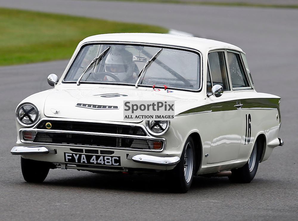 GOODWOOD REVIVAL....Rowan Atkinson during qualifying for the weekend races...(c) STEPHEN LAWSON | SportPix.org.uk