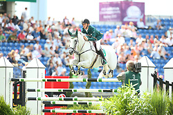 Allen Bertram, (IRL), Molly Malone V<br /> Team Competition round 1 and Individual Competition round 1<br /> FEI European Championships - Aachen 2015<br /> &copy; Hippo Foto - Stefan Lafrentz<br /> 19/08/15