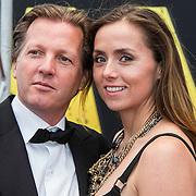 NLD/Amsterdam/20140508 - Wereldpremiere voorstelling Anne, michiel Mol en partner Marlous Mens en zijn kinderen Paul, Mythe en Pieter