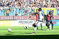 gol Paul Pogba<br /> Genova 20-09-2015 Stadio Luigi Ferraris, Football Calcio Serie A 2015/2016, Genoa-Juventus Foto Matteo Gribaudi/Image Sport/Insidefoto