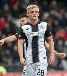 St Mirren Cammy Macpherson  during the Ladbrokes Scottish Premier League match at St Mirren Park, St Mirren.