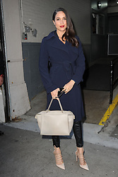 March 17, 2016 - New York, NY, USA - March 17, 2016 New York City..Meghan Markle was seen leaving AOL Build Speaker Series on March 17, 2016 in New York City...Credit: Kristin Callahan/ACE Pictures..tel: 646 769 0430.Email: info@acepixs.com.www.acepixs.com. (Credit Image: © Kristin Callahan/Ace Pictures via ZUMA Press)