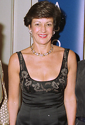 MRS BOW CECIL sister in law of trainer Henry Cecil, at a ball in London on 30th August 1997.MAW 15 WICO