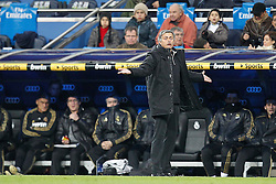 28.01.2012, Santiago Bernabeu Stadion, Madrid, ESP, Primera Division, Real Madrid vs Real Saragossa, 21. Spieltag, im Bild Real Madrid's Jose Mourinho // during the football match of spanish 'primera divison' league, 21th round, between Real Madrid and Real Saragossa at Santiago Bernabeu stadium, Madrid, Spain on 2012/01/28. EXPA Pictures © 2012, PhotoCredit: EXPA/ Alterphotos/ Cesar Cebolla..***** ATTENTION - OUT OF ESP and SUI *****