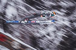 03.02.2019, Heini Klopfer Skiflugschanze, Oberstdorf, GER, FIS Weltcup Skiflug, Oberstdorf, im Bild Jan Hoerl (AUT) // Jan Hoerl of Austria during his Jump of FIS Ski Jumping World Cup at the Heini Klopfer Skiflugschanze in Oberstdorf, Germany on 2019/02/03. EXPA Pictures © 2019, PhotoCredit: EXPA/ JFK