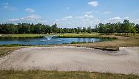 TILBURG -  Hole 4 Blaak.. PRISE D'EAU GOLF, golfbaan.  COPYRIGHT KOEN SUYK