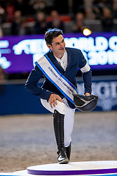 Podium World Cup Final, Guerdat Steve, SUI<br /> LONGINES FEI World Cup™ Finals Gothenburg 2019<br /> © Hippo Foto - Stefan Lafrentz<br /> 07/04/2019