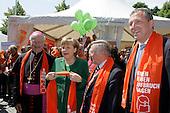 Katholikentag in Mannheim  mit Angela Merkel