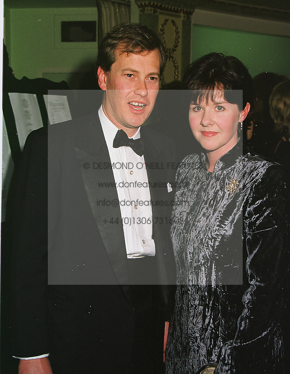 LORD & LADY IVAR MOUNTBATTEN  at a ball in London on 2nd March 1999.MOY 42