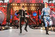 Öffentliche Generalprobe von Udo Lindenberg  in der HDI-Arena in Hannover am 09.July 2015. Foto: Rüdiger Knuth
