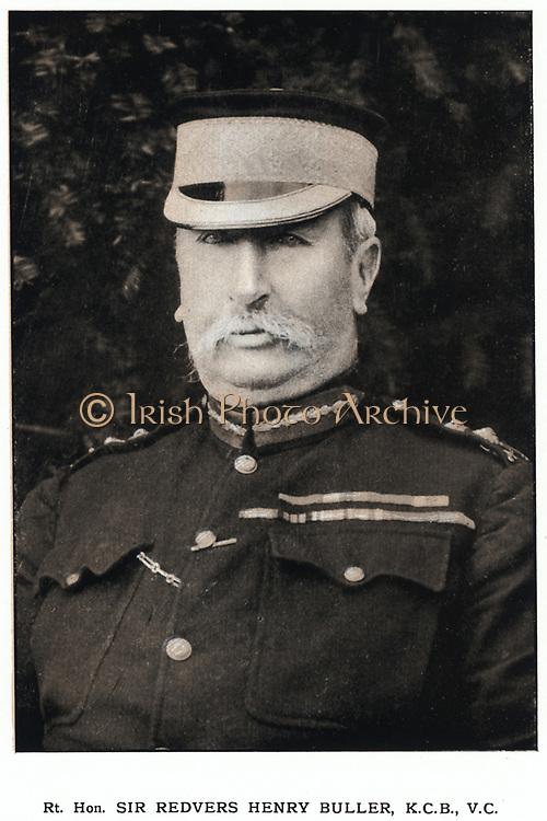 Henry Redvers Buller (1839-1908) British soldier. Won V.C. at Inhlobane, in Zulu War, 1879. Commander-in-chief  at beginning of 2nd Boer War. Relieved Ladysmith, 1900.
