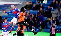 Fotball<br /> Tippeligaen<br /> Ullevål Stadion 01.04.13<br /> Vålerenga VIF - Sogndal<br /> Christian Grindheim i duell med Sidy Sagna<br /> Foto: Eirik Førde