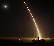 Intercontinental ballistic missile firing