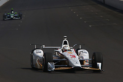 May 26, 2017 - Indianapolis, UNITED STATES OF AMERICA - 3 HELIO CASTRONEVES (BRA) TEAM PENSKE (USA) CHEVROLET (Credit Image: © Panoramic via ZUMA Press)