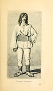 Isigane of Voakovar [Vukovar] Croatia engraving on wood From The human race by Figuier, Louis, (1819-1894) Publication in 1872 Publisher: New York, Appleton