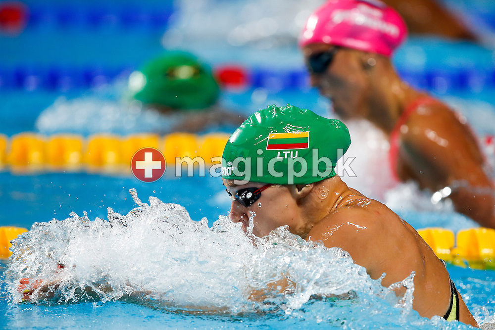 Ruta MEILUTYTE of Lithuania competes in the women's 100m Breaststroke Final during the 16th FINA World Swimming Championships held at the Kazan arena in Kazan, Russia, Tuesday, Aug. 4, 2015. (Photo by Patrick B. Kraemer / MAGICPBK)