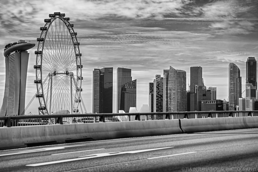 Marina Bay Sands Resort, Singapore Flyer & Skyline