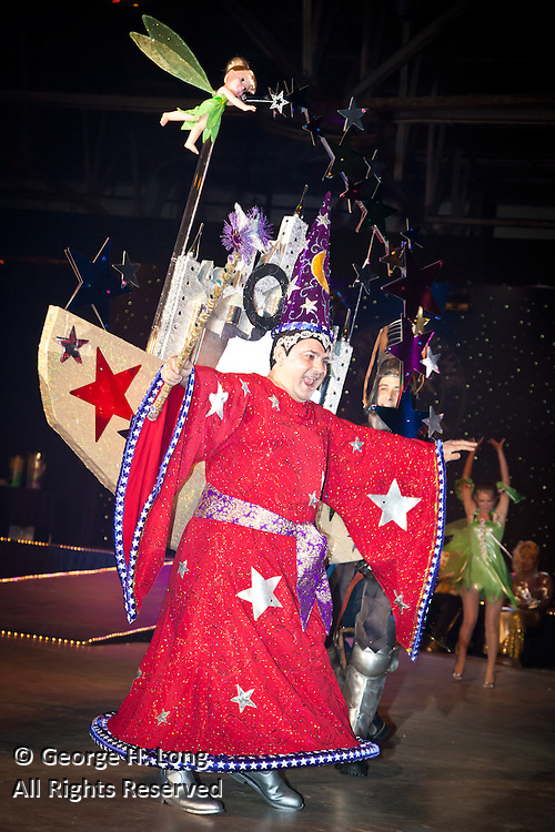 "Satyricon's Captain of the krewe, Tony Leggio as Mickey Mouse; Satyricon Ninth Bal Masque: ""The Mickey Ball"""