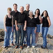 July 31, 2008 -- OCEAN POINT, East Boothbay, Maine.  Dugdale extended family portraiture.   Photo by Roger S. Duncan