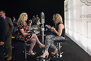 NICKI DAVIES; LOUISE WARREN, Preview for The London Motor Show, Battersea Evolution. London. 5 May 2016