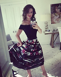 """Hilaria Baldwin releases a photo on Instagram with the following caption: """"\ud83d\udc57 @carmenmarcvalvo \ud83d\udc87\ud83c\udffb @lightpinkrose"""". Photo Credit: Instagram *** No USA Distribution *** For Editorial Use Only *** Not to be Published in Books or Photo Books ***  Please note: Fees charged by the agency are for the agency's services only, and do not, nor are they intended to, convey to the user any ownership of Copyright or License in the material. The agency does not claim any ownership including but not limited to Copyright or License in the attached material. By publishing this material you expressly agree to indemnify and to hold the agency and its directors, shareholders and employees harmless from any loss, claims, damages, demands, expenses (including legal fees), or any causes of action or allegation against the agency arising out of or connected in any way with publication of the material."""