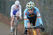 BELGIUM / ZOLDER / CYCLING / WIELRENNEN / CYCLISME / CYCLOCROSS / CYCLO-CROSS / VELDRIJDEN / WERELDBEKER / WORLD CUP / COUPE DU MONDE / U23 / WOUT VAN AERT (BEL) /