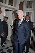 RICHARD BUCKLEY, London fundraising dinner for President Barack Obama. <br /> <br /> Mark's Club, 46 Charles Street, London, W1J 5EJ, 19 September 2012
