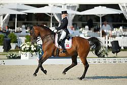 Aaen Anne Sofie, (DEN), Schambuka Soelyst<br /> Grand Prix U25<br /> CDIO Hagen 2015<br /> © Hippo Foto - Stefan Lafrentz