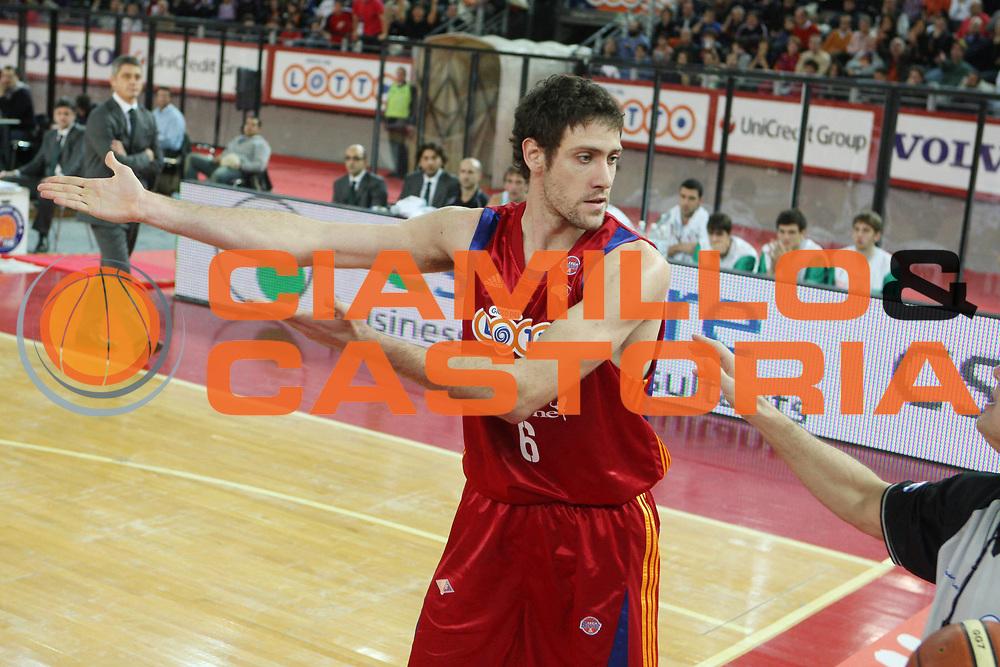 DESCRIZIONE : Roma Lega A1 2008-09 Lottomatica Virtus Roma Benetton Treviso<br /> GIOCATORE : Angelo Gigli<br /> SQUADRA : Lottomatica Virtus Roma <br /> EVENTO : Campionato Lega A1 2008-2009<br /> GARA : Lottomatica Virtus Roma Benetton Treviso<br /> DATA : 14/12/2008<br /> CATEGORIA : delusione ritratto<br /> SPORT : Pallacanestro<br /> AUTORE : Agenzia Ciamillo-Castoria/G.Ciamillo