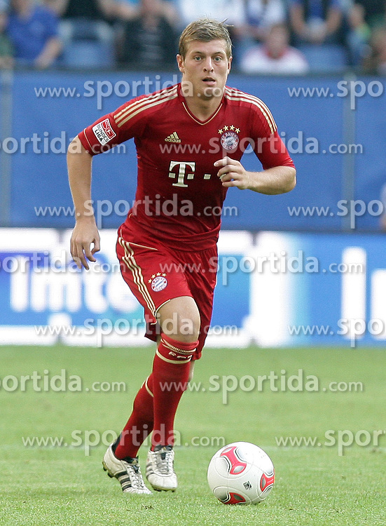 Football: Germany, Liga Total Cup, FC Bayern Muenchen, Hamburg, 04.08.2012.Tony KROOS (.©Êpixathlon