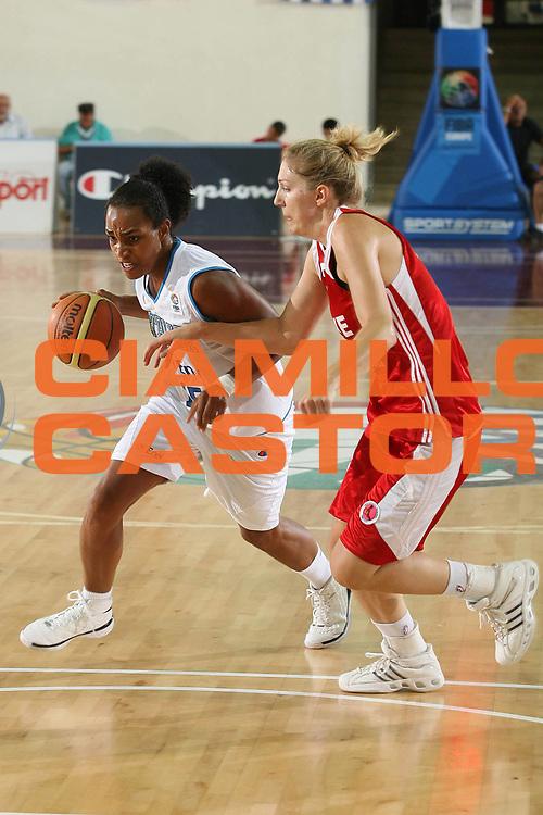 DESCRIZIONE : Chieti Qualificazione Eurobasket Women 2009 Italia Turchia <br /> GIOCATORE : Marte Alexander <br /> SQUADRA : Nazionale Italia Donne <br /> EVENTO : Raduno Collegiale Nazionale Femminile<br /> GARA : Italia Turchia Italy Turkey <br /> DATA : 27/08/2008 <br /> CATEGORIA : palleggio <br /> SPORT : Pallacanestro <br /> AUTORE : Agenzia Ciamillo-Castoria/M.Marchi <br /> Galleria : Fip Nazionali 2008 <br /> Fotonotizia : Chieti Qualificazione Eurobasket Women 2009 Italia Turchia <br /> Predefinita :