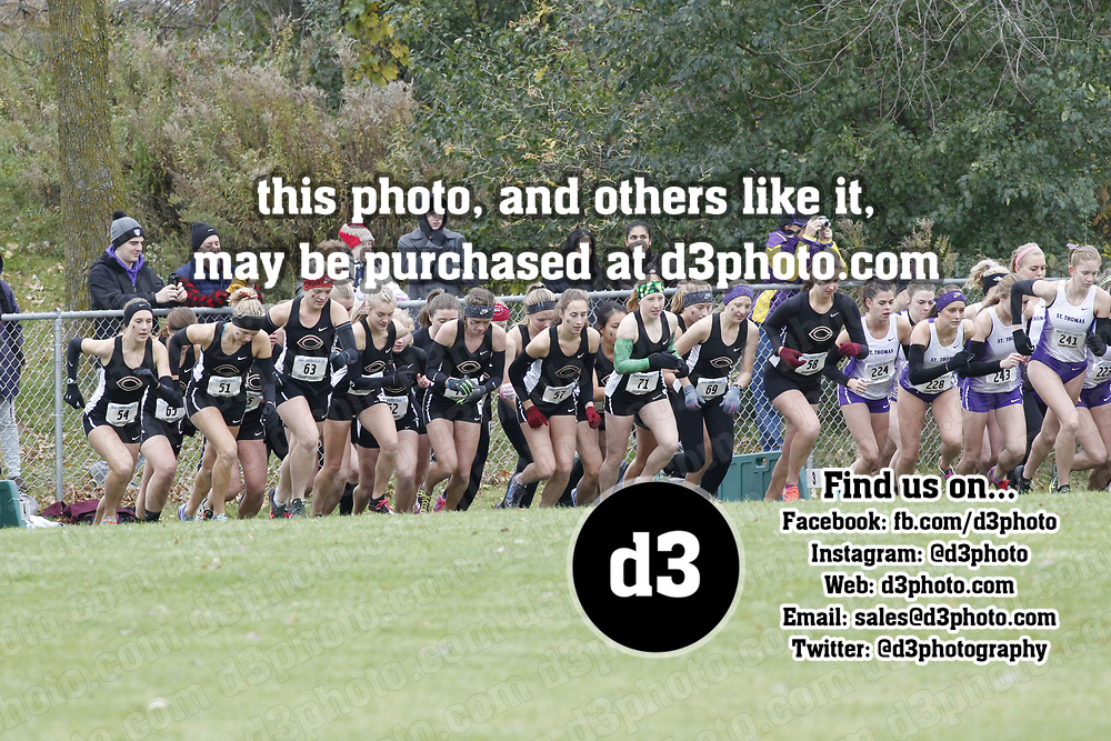 MIAC Cross Country Championships<br /> Women's 6k
