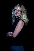 A portrait of Kate Rawles at the Edinburgh International Book Festival 2012 in Charlotte Square Gardens<br /> <br /> Pic by Pako Mera