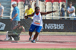 WELEPA Rose, FRA, Discus, F11/12, 2013 IPC Athletics World Championships, Lyon, France
